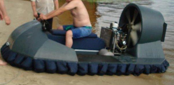 Лодка вентилятором своими руками