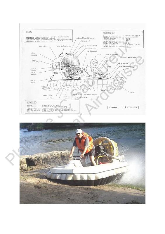 Compilation plan aeroglisseur