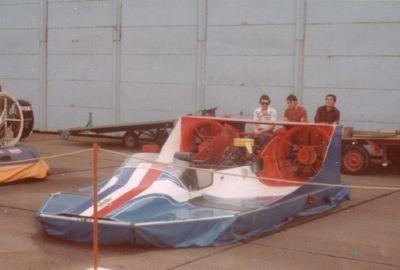 Deuxième machine, avec un moteur DAF de 48CV