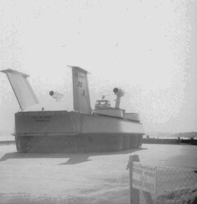 Le Naviplane N300 à Blaye